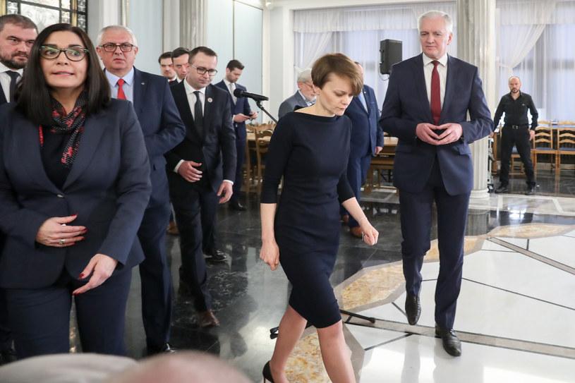 Po najbliższym głosowaniu drogi posłów Porozumienia mogą się rozejść /Andrzej Iwańczuk /East News