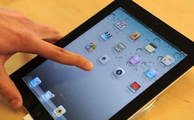 Po obniżonej cenie Apple oferuje głównie używane iPady /AFP
