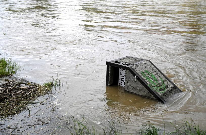 Po ostatnich ulewach wzrósł stan rzek w Małopolsce /Darek Delmanowicz /PAP