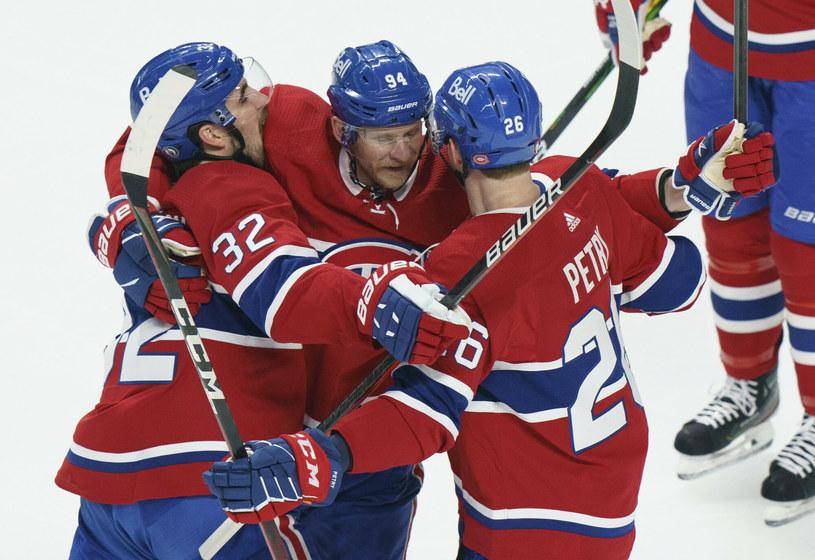 Po ostatnim meczu to drużyna z Montrealu miała powody do radości /The Canadian Press/Associated Press/East News /East News