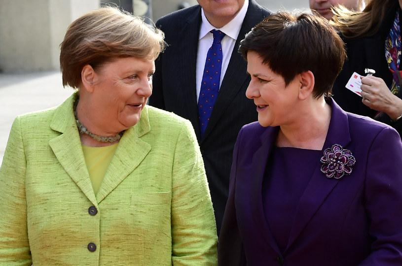 Po otwarciu targów Szydło i Merkel spotkają się na roboczej kolacji /TOBIAS SCHWARZ /AFP