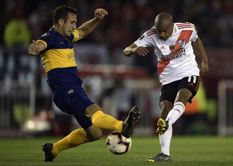 Po pierwszym meczu półfinałowym w lepszej sytuacji są gracze River Plate /AFP