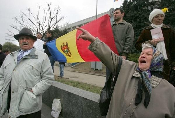 Po próbach tuszowania tragedii w Mołdawii doszło do protestów /AFP