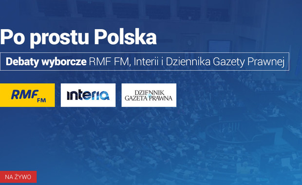 Po prostu Polska. Debaty wyborcze 2019. Zapraszamy co poniedziałek