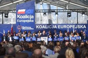 PO przedstawiła swoich kandydatów na listach do PE