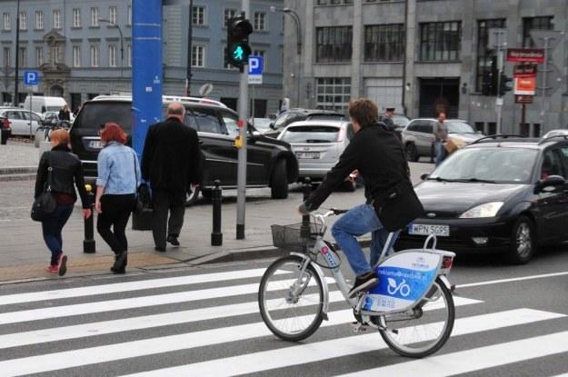 Po przejściu jeździć nie wolno / Fot: Włodzimierz Wasyluk /Reporter