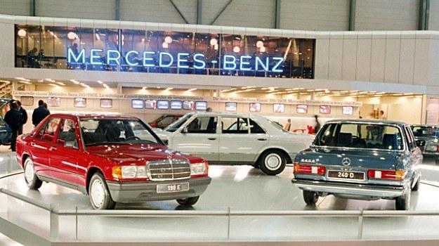 """Po raz pierwszy """"190"""" zaprezentowano w listopadzie 1982 r. /Mercedes"""