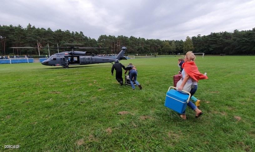 Po raz pierwszy narząd do przeszczepu transportowano na pokładzie policyjnego Black Hawka /Policja