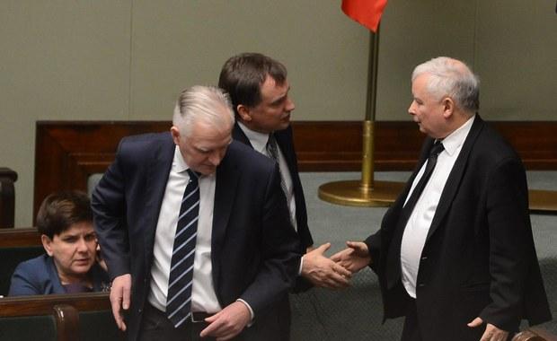 """Po rozmowach Kaczyńskiego, Ziobry i Gowina: """"Najgorsze za nami"""""""