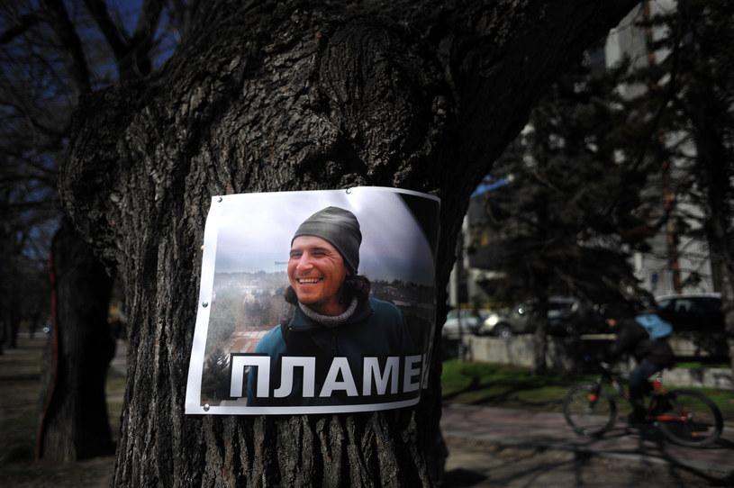 Po samopodpaleniu i śmierci 36-letniego Płamena Goranowa doszło do fali protestów /AFP