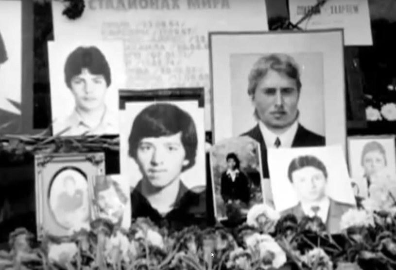 Po setkach tragicznie zmarłych kibiców Spartaka zostały tylko wspomnienia i fotografie. /AFP