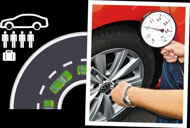 Po skorygowaniu ciśnienia zgodnie z zaleceniami (w tylnej osi nawet o 50%), samochód odzyskuje neutralną charakterystykę prowadzenia. /Motor