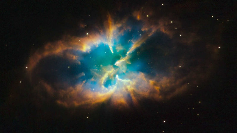 Po Słońcu zostanie mgławica planetarna - taka jak NGC 2818 /NASA