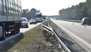 Po śmiertelnym wypadku autostrada A4 już przejezdna
