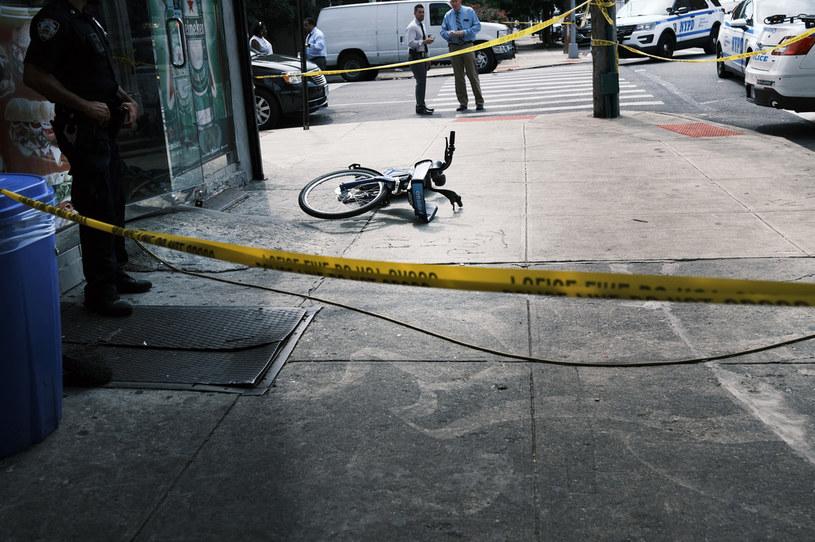 Po strzelaninie na nowojorskim Brooklynie, zdjęcie ilustracyjne /SPENCER PLATT / GETTY IMAGES NORTH AMERICA / GETTY IMAGES VIA AFP /AFP