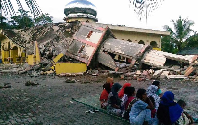 Po trzęsieniu ziemi na sumatrze /ZIAN MUTTAQIEN / AFP /AFP