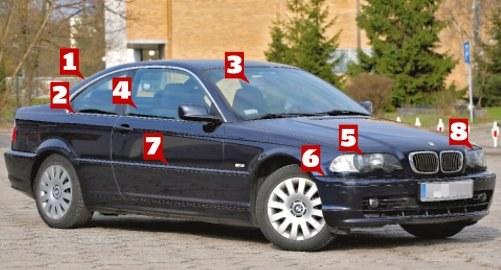Po tych śladach możesz samodzielnie rozpoznać samochód powypadkowy /Motor