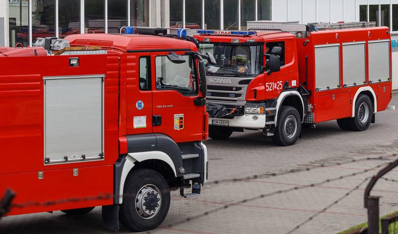 Po ugaszeniu ognia strażacy znaleźli częściowo zwęglone zwłoki (zdjęcie ilustracyjne) /Maciej Jarżębiński /Agencja FORUM