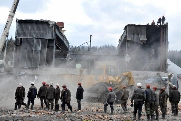 Po wybuchu w kopalni Raspadzkaja Rosja może znieść 5 proc. cło, by ułatwic import węgla z Polski /AFP
