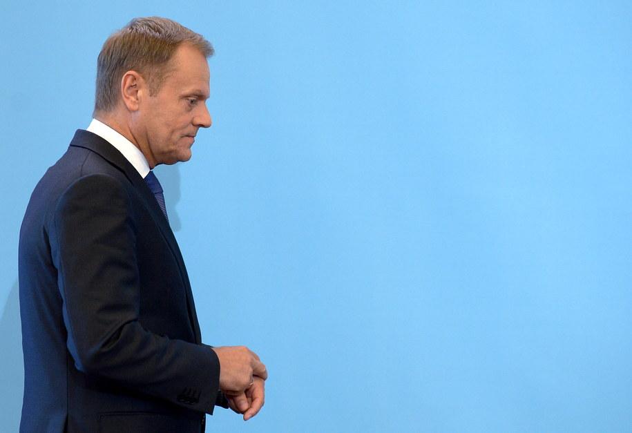 """Po wydarzeniach w redakcji """"Wprost"""" głos zabrał premier /Radek  Pietruszka /PAP"""