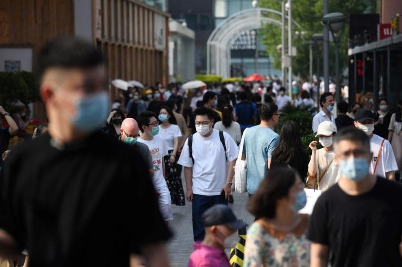Po wydostaniu się bakterii z chińskiego  laboratorium ukrywano skalę zakażeń, zdjęcie ilustracyjne /GREG BAKER/AFP /AFP