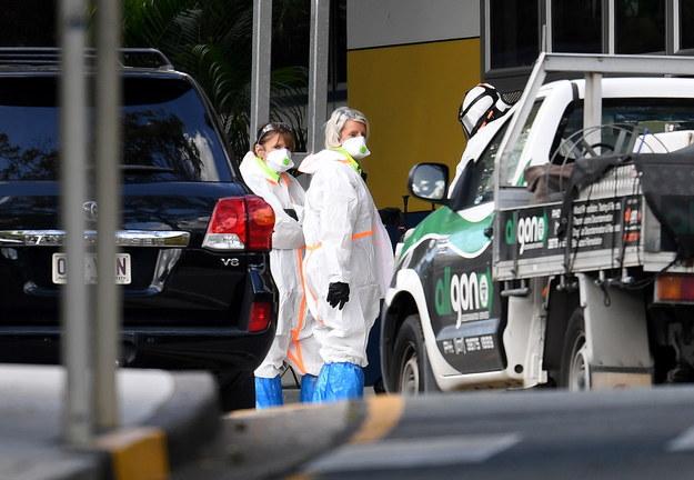 Po wykryciu koronawirusa u ucznia z Brisbane, zdecydowano o dezynfekcji szkoły, do której uczęszczał / DAN PELED /PAP