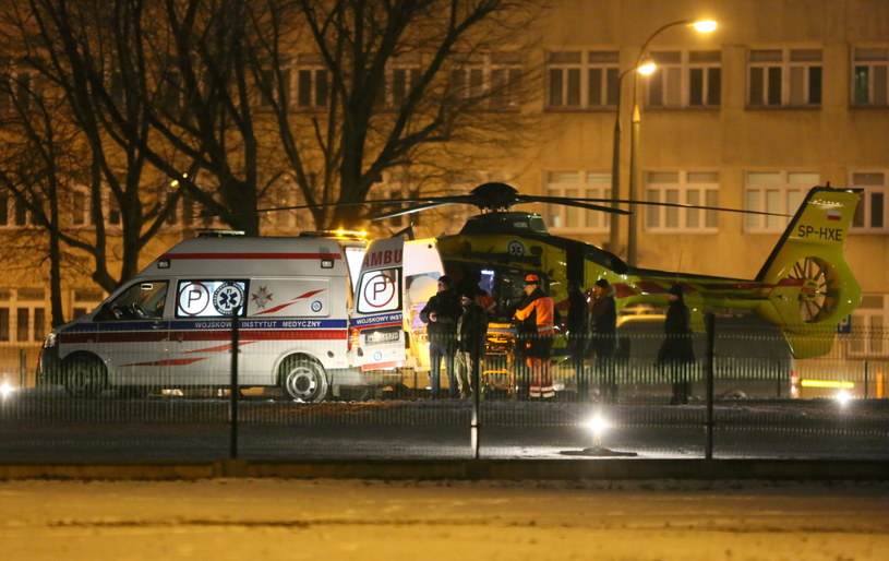 Po wypadku samochodowej kolumny rządowej premier Beata Szydło została przetransportowana do Warszawy śmigłowcem LPR /Leszek Szymański /PAP
