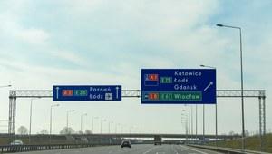 Po wypadku zablokowana autostrada A1