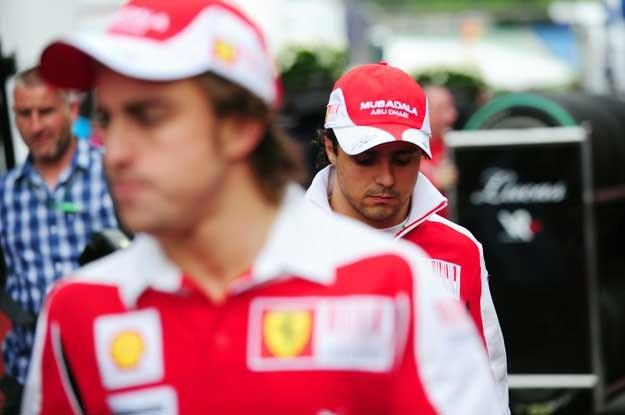 Po wyścigu  Massa był wściekły /