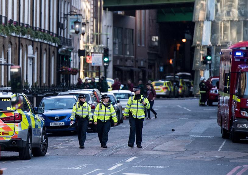 Po zamachach wzmocniono siły policyjne w Londynie /CHRIS J RATCLIFFE /AFP