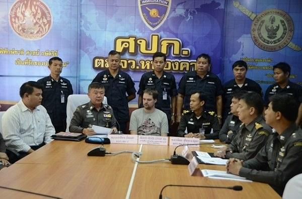 Po zatrzymaniu Fredrika Neija, tajska policja zorganizowała konferencję prasową. Jego zatrzymanie oznacza,że cała trójka ojców serwisu z Torrentami została zatrzymana /materiały prasowe