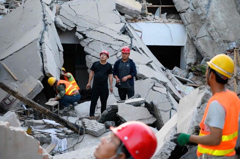 Po zawaleniu dachu restauracji w północnych Chinach zginęło 29 osób /AFP
