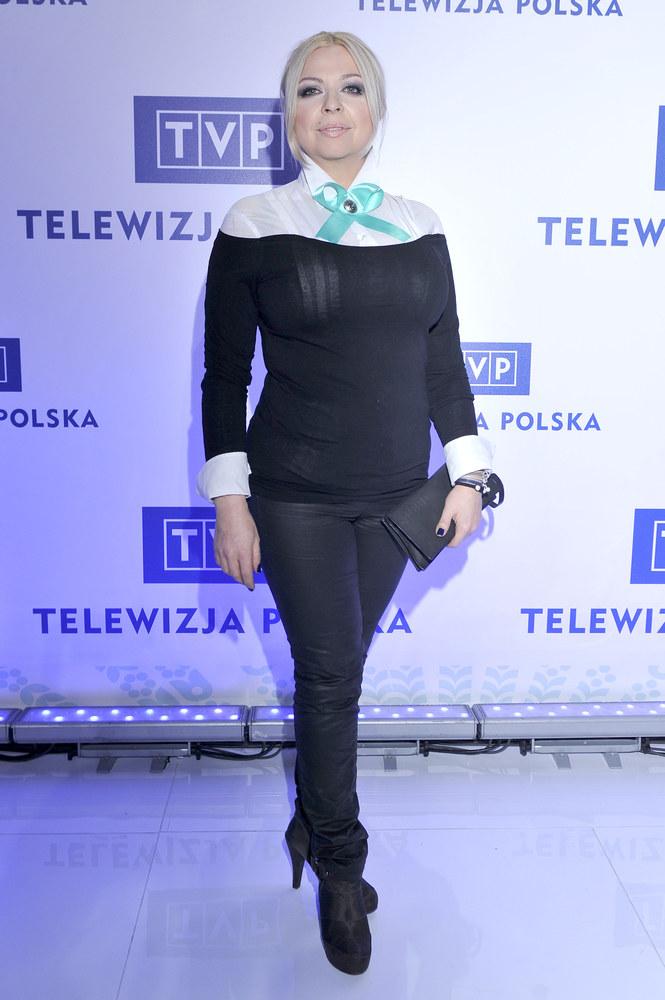 Po zrzuceniu zbędnych kilogramów, aktorka wciąż wybiera złe rozmiary /Mieszko Pietka /AKPA