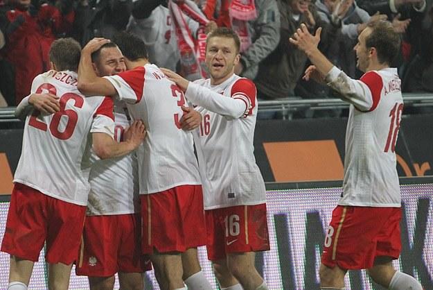 Po zwycięstwie nad WKS atmosfera wokół kadry poprawiła się. Fot. Andrzej Grupa /INTERIA.PL