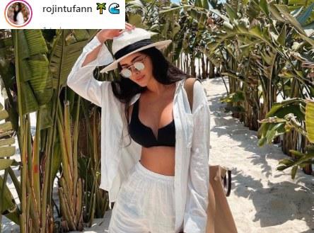 Pochodząca z tureckiej Bury Rojin jest żoną Ozana Tufana /Instagram