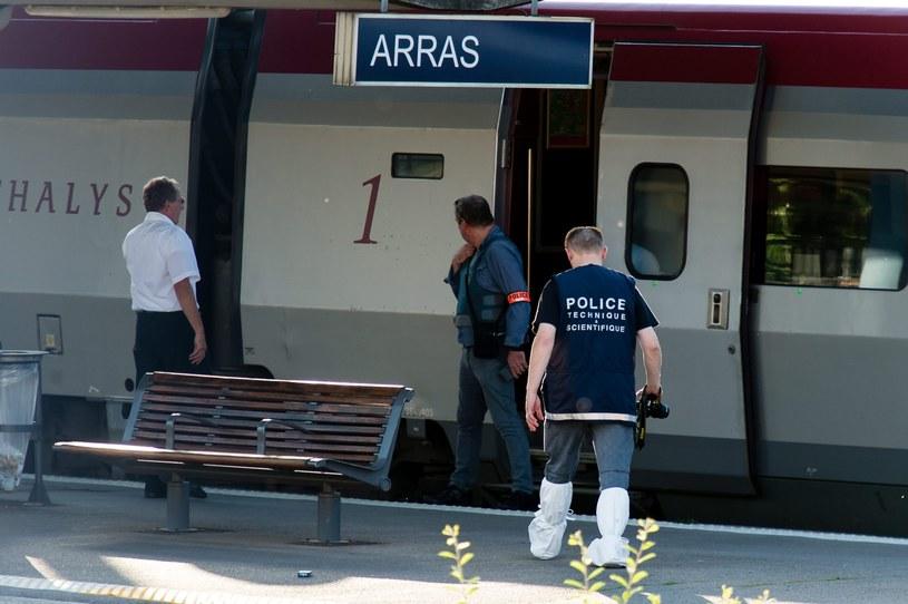 Pociąg jechał z Amsterdamu do Paryża /AFP