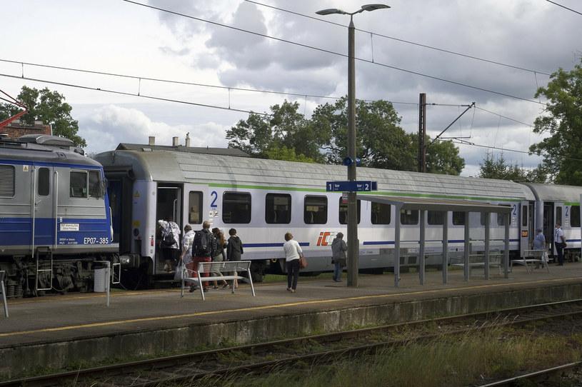 Pociąg PKP Intercity; zdj. ilustracyjne /Stanisław Bielski /Reporter