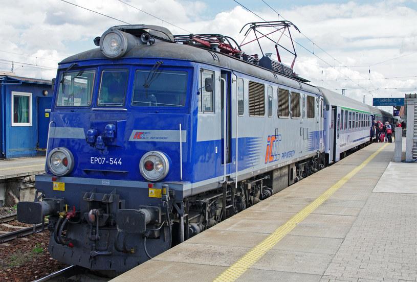 Pociąg PKP Intercity; zdj. ilustracyjne /Marek Bazak /East News
