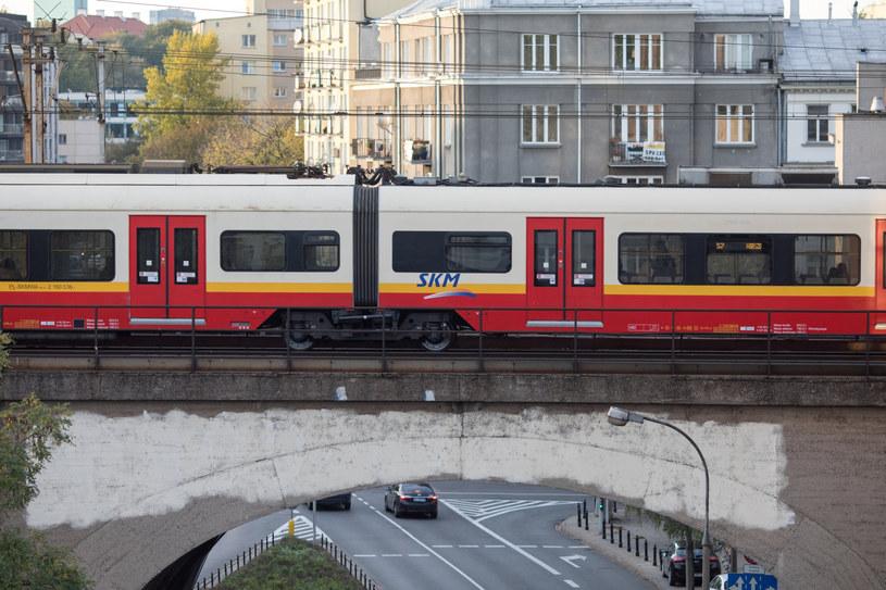 Pociąg SKM, zdj. ilustracyjne /fot. Andrzej Iwanczuk /Reporter