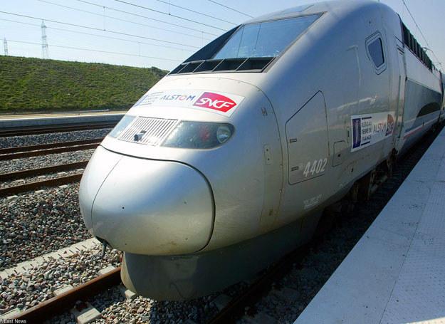 Pociąg TGV/ Zdjęcie ilustracyjne /FRANCOIS NASCIMBENI /East News