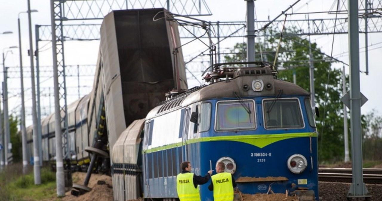 Pociąg towarowy wykoleił się w Legnicy