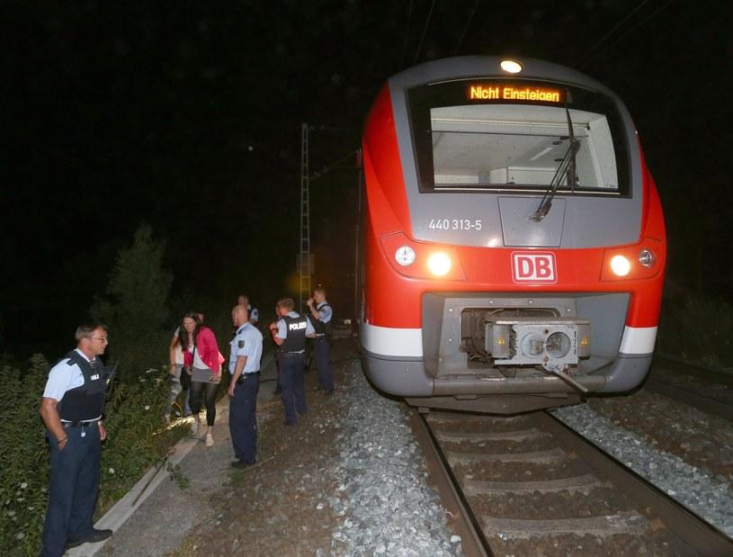 Pociąg, w którym doszło do ataku /Karl-Josef Hildenbrand /PAP/EPA