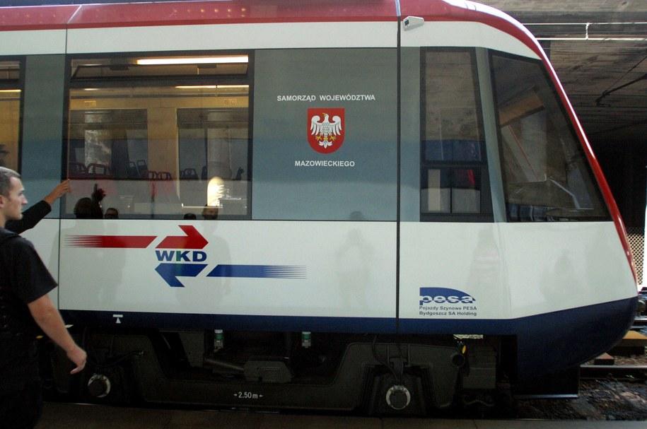 Pociąg WKD (zdj. ilustracyjne) /Tomasz Gzell /PAP