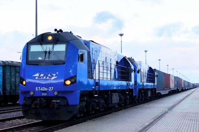 Pociąg z Chin, który wjechał do Polski szerokim torem LHS bez przeładunku na granicy, źródło: lhs.com.pl /&nbsp