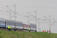 Pociąg zabił dwóch mężczyzn