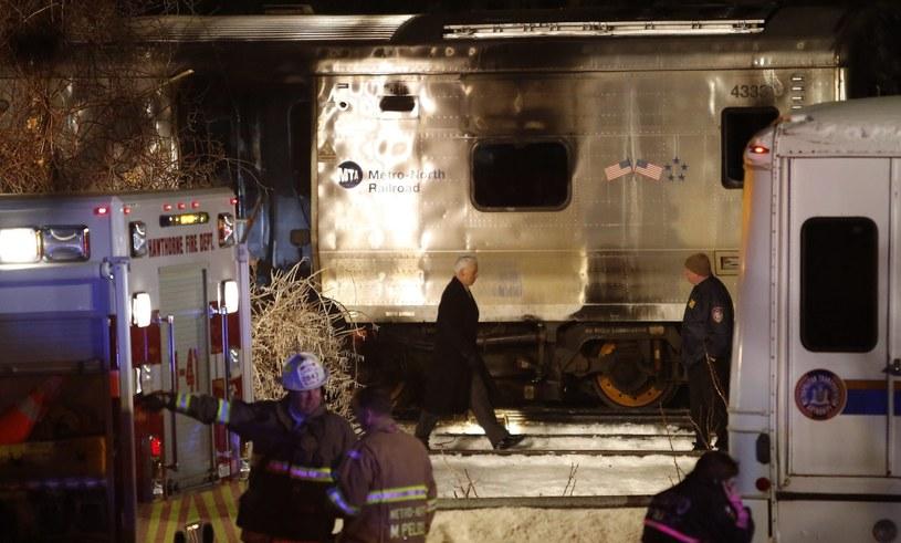Pociąg zderzył się z samochodem /PAP/EPA