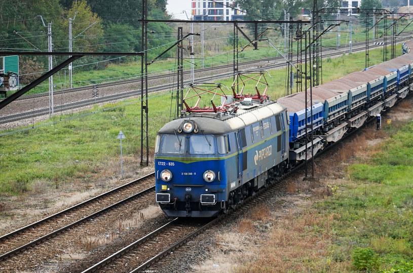 Pociągi towarowe notują przeciętnie wielogodzinne spóźnienia /Wojtek Laski /East News