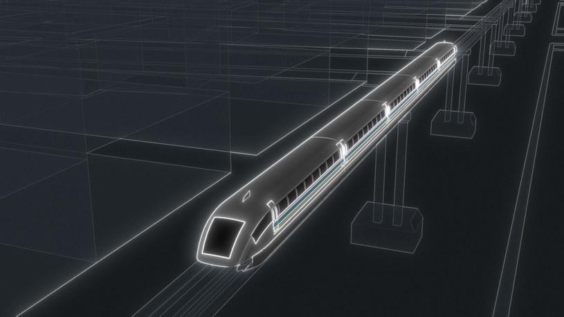 """Pociągi typu """"Maglev"""" należą do najszybszych na świecie /123RF/PICSEL"""