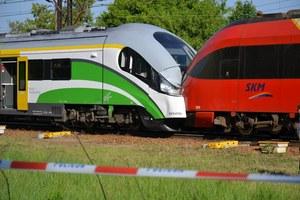 Pociągi zderzyły się czołowo, fot. RMF FM //RMF FM