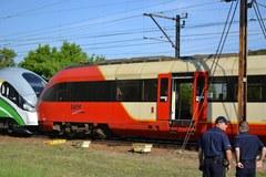 Pociągi zderzyły się w Warszawie